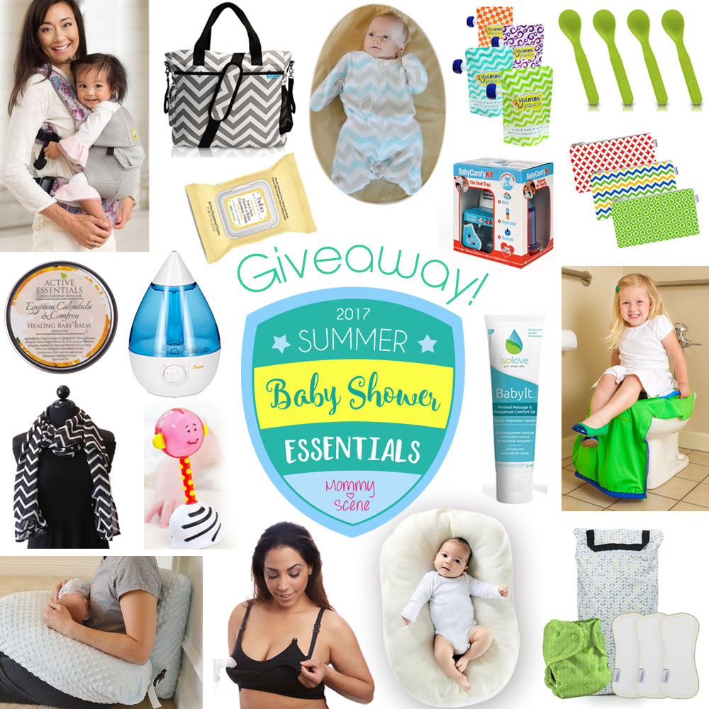 Don't miss this awesome #BabyShowerEssentials Giveaway from @mommyscene featuring must-have baby gear for families!