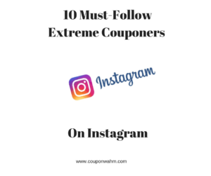10 Must-Follow Extreme Couponers on Instagram