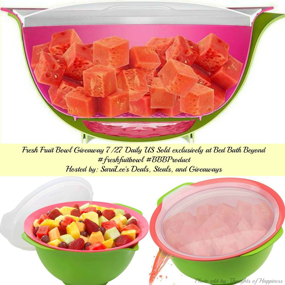 Enter to #win a Fresh Fruit Bowl (ends 7/27) #giveaways