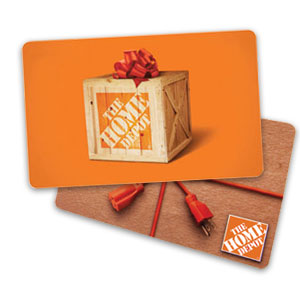 Enter to win in the Brood X $300 Home Depot Gift Card Giveaway