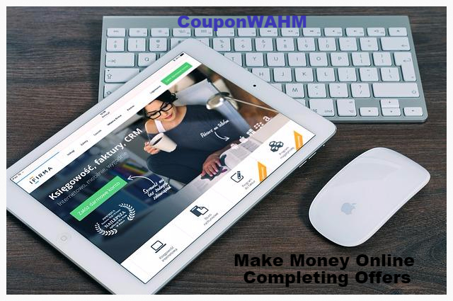 Make Money Online Completing Offers