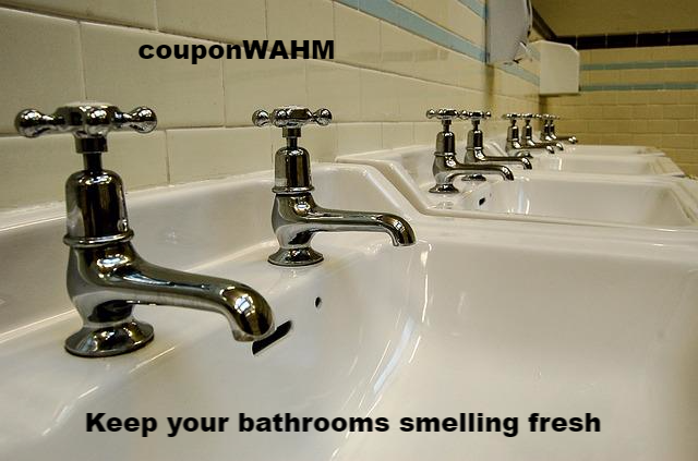 Keep your bathrooms smelling fresh