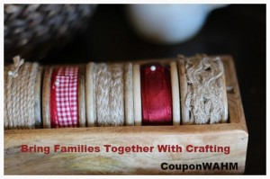 Bring Families Together With Crafting