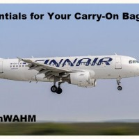 ESSENTIALS FOR CARRY ON BAGGAGE