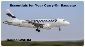 Essentials for Your Carry-On Baggage