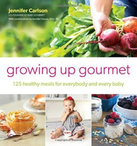 Enter for a chance to win a Growing Up Gourmet: 125 Healthy Meals for Everybody and Every Baby Book (ends 11/02) #giveaways