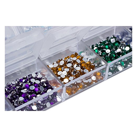 3,000 Nail Art Gems – Mixed Colors And Shapes – Only $2.37 Plus FREE Shipping!