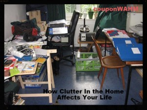 How Clutter In the Home Affects Your Life