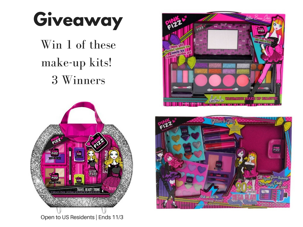 #2017Holiday Enter for a chance to win a Kids Make-Up Kit