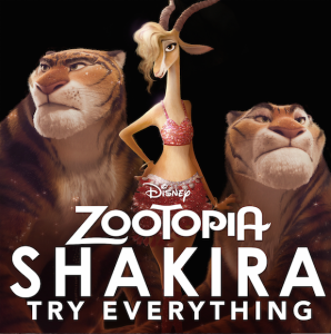 "Watch the Brand New Music Video for Shakira's ""Try Everything #Zootopia"