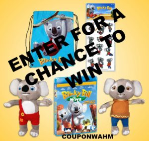 "Enter For A Chance to Win A Charming Family Adventure ""Blinky Bill: The Movie"" Prize Pack #giveaways"