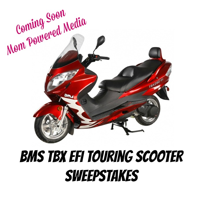 Bloggers Needed: BMS TBX EFI Touring Scooter Giveaway