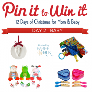 Enter to #win in the 12 Days of Christmas Pin it to Win it #giveaway