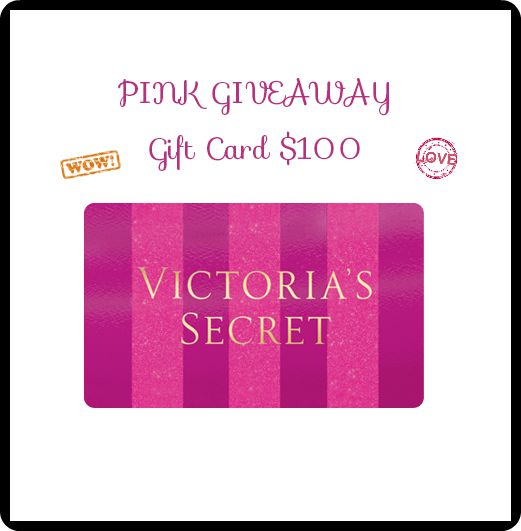 FREE blogger opportunity:$100 Victoria's Secret Gift Card Giveaway