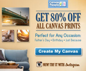 Canvas People 80% Off All Canvas Just In Time For Father's Day