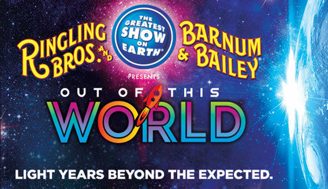 Ringling Bros. and Barnum and Bailey is coming to the Cleveland Quicken Loans Arena 10/20/2016