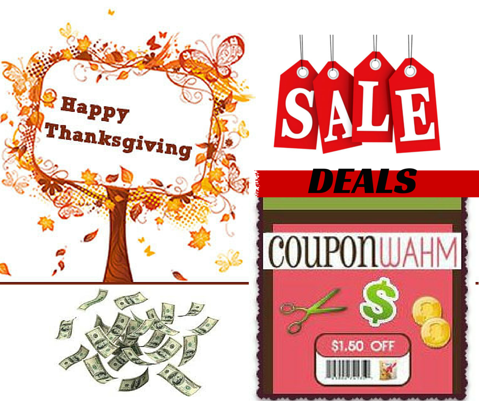 CouponWAHM HAPPY THANKS GIVING
