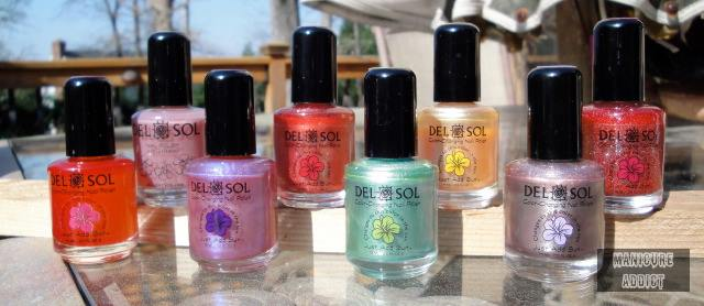 Enter to #win A DelSol Color Chaning Nail Polish Set of 5 (ends 8/2/14) #giveaways