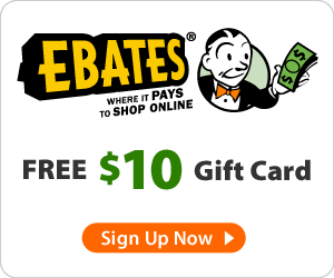 How Ebates Works + Free $10 Gift Card