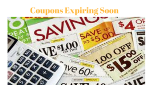 Coupons Expiring Soon Print Now