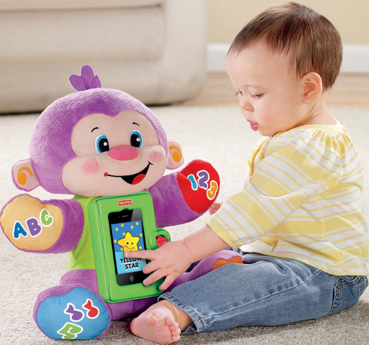 Fisher-Price Laugh and Learn Apptivity Monkey Only $13.99 Shipped (Reg. $29.99!)