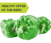 Save 20% of Green Peppers (ends 3/3/14)