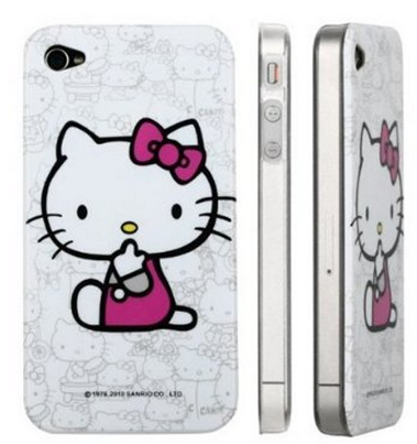 Amazon: Hello Kitty Apple iPhone 4 Case Only $1.02 + FREE Shipping!