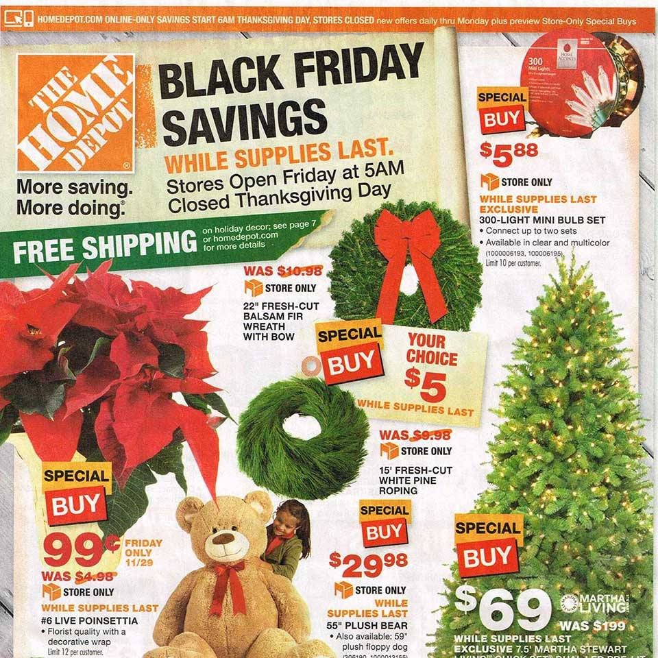 Home Depot Black Friday 2013 Ad Released