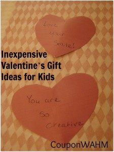Inexpensive Valentine's Gift Ideas for Kids
