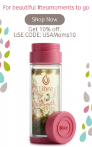 Save 10% off on @libretea tea Glass Infuser @usfg
