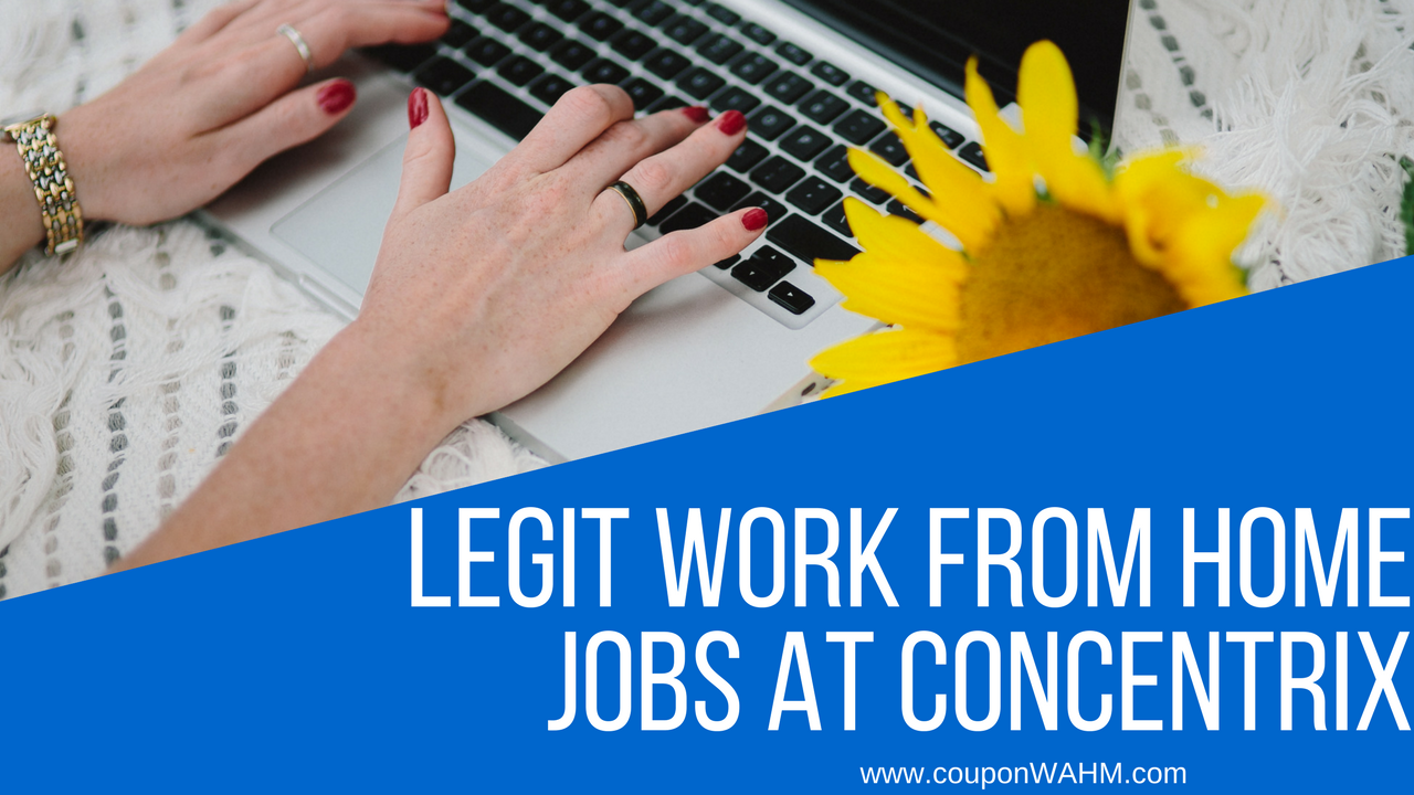 Legit Work From Home Jobs at Concentrix