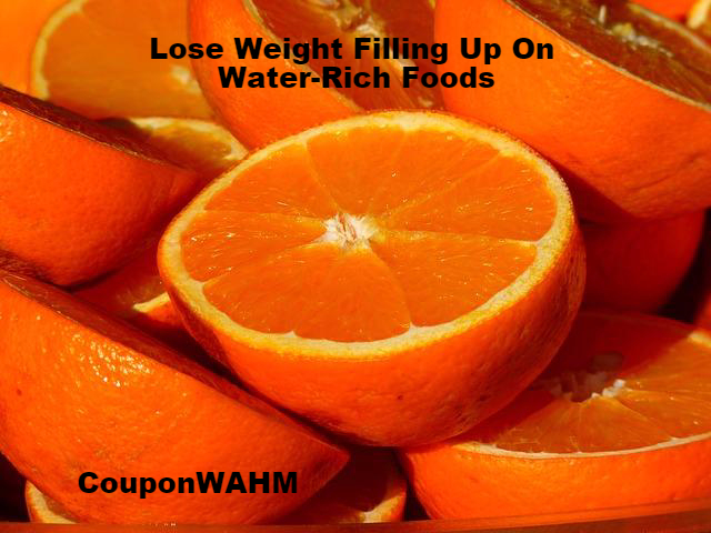 Lose Weight Filling Up On Water-Rich Foods