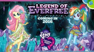 MY LITTLE PONY EQUESTRIA GIRLS – LEGEND OF EVERFREE COMING TO BLU-RAY & DVD NOVEMBER 1