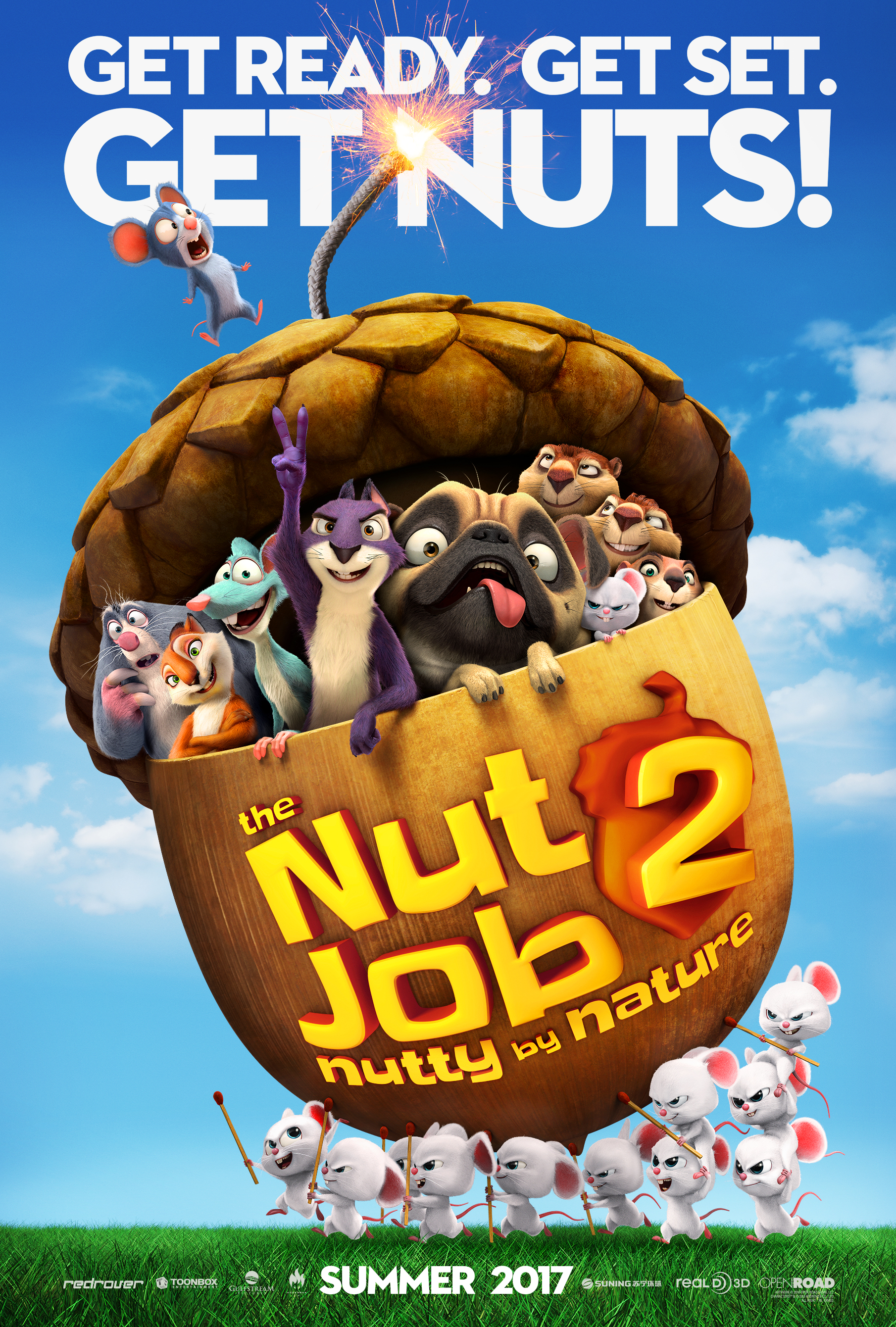 THE NUT JOB 2: NUTTY BY NATURE In Theaters August 18