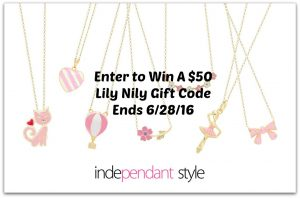 Enter To Win A $50 Gift Code To Lily Nily #giveaways (ends 6/28)