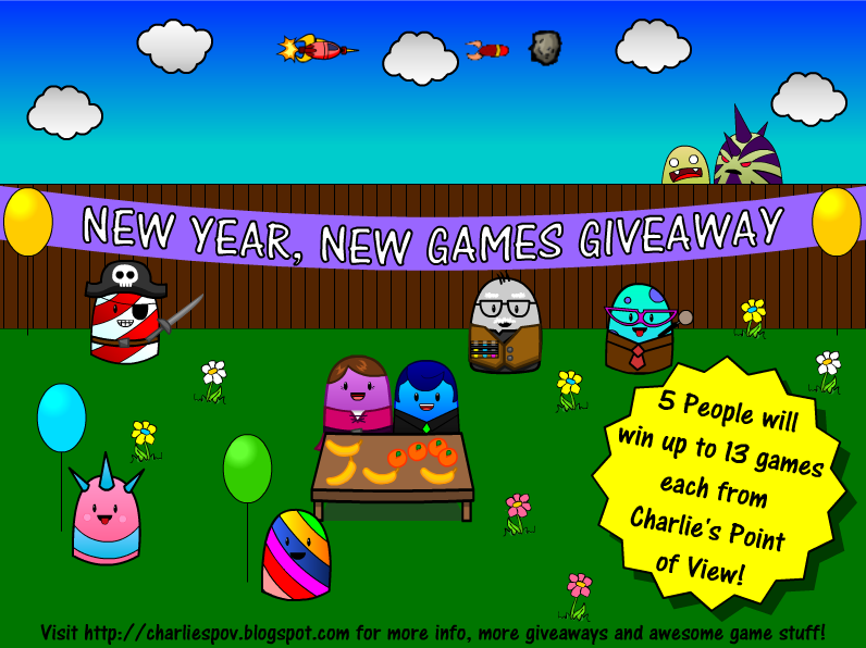 Enter to #win in the New Year New Games Giveaway (ends 2/23)