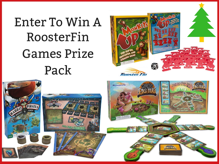 #HolidayEssentials Enter for a chance to win a  @roosterfin games prize pack