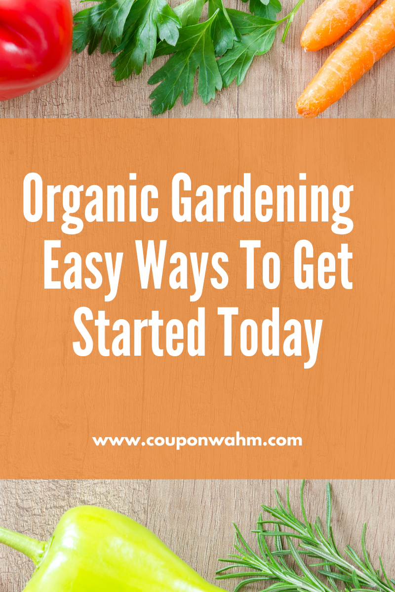 Organic Gardening – Easy Ways To Get Started Today