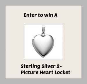Enter to Win A Sterling Silver 2-Picture Heart Locket + More #SpecialMoms (ends 5/4)