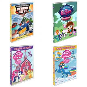 Summer TV Round-up featuring   My Little Pony, Littlest Pet Shop, Transformers  DVDs from Shout