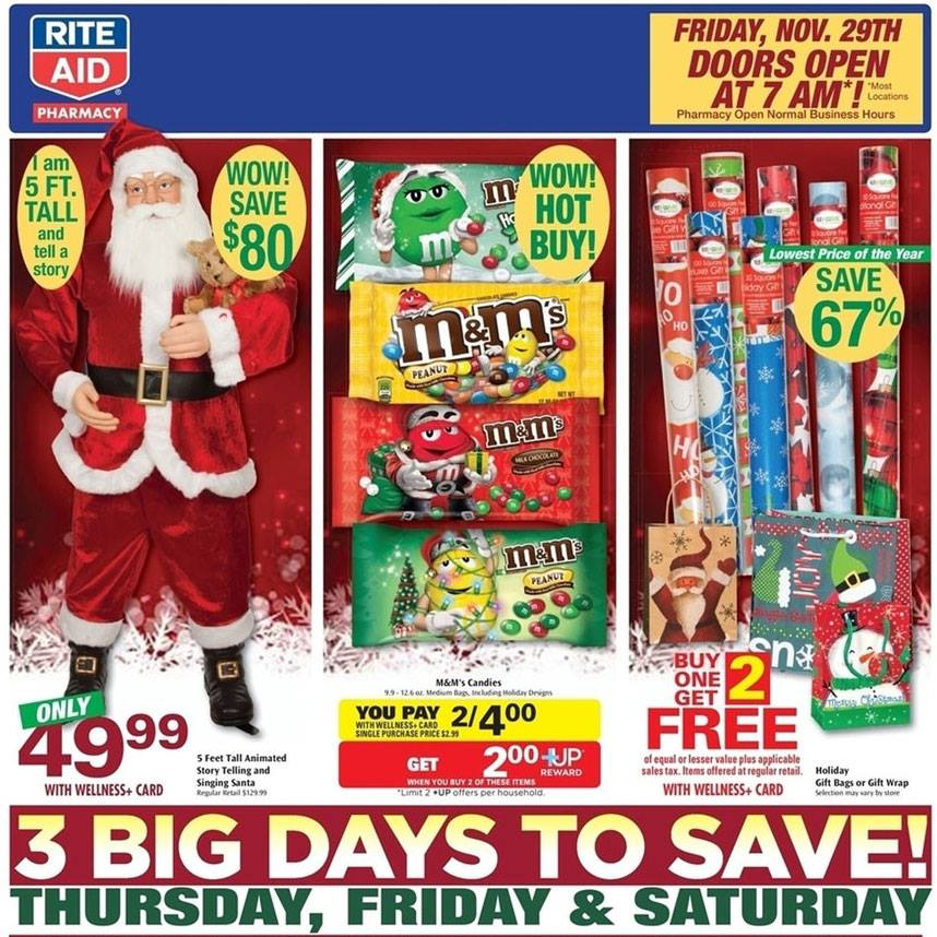 Rite Aid 2013 Black Friday Ads