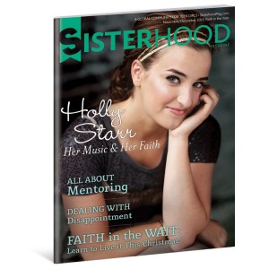 Sisterhood Magazine helps Girls grow in Faith,Love and Values