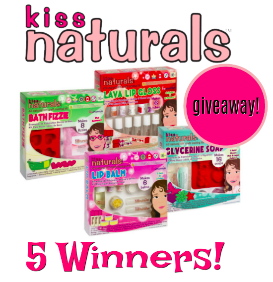 Enter for a chance to win a Kiss Naturals DIY Kit (ends 11/30) #giveaways