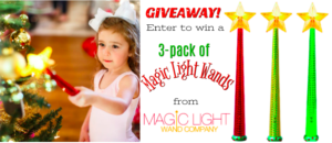 Enter for a chance to #win a 3 pack of Magic Light Wands #giveaways