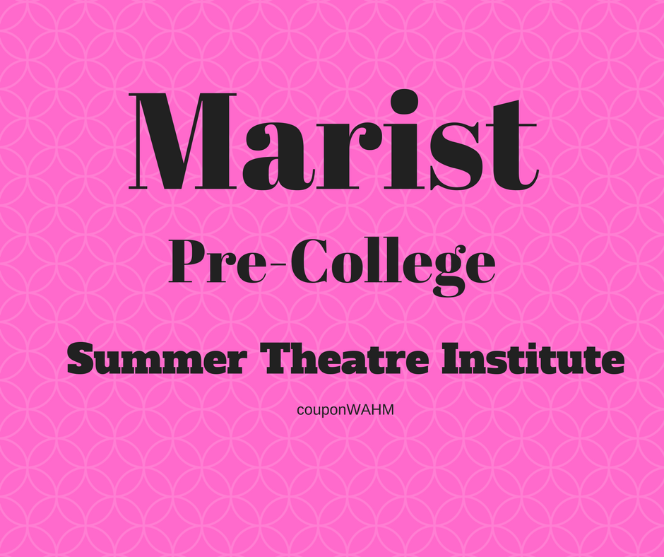 *Hot* 2017 Marist Pre-College Summer Theater Scholarships Available