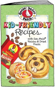 #free Gooseberry Patch Kid-Friendly Recipes Cookbook From Sunmaid Raisins
