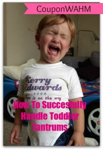 How To Succesfully Handle Toddler Tantrums