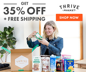 Thrive Market – 35% Off First Order and Free Shipping