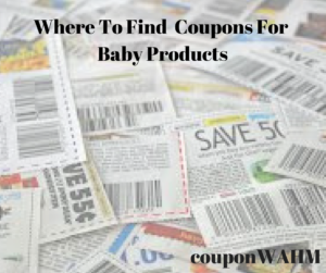 Where To Find  Coupons For Baby Products