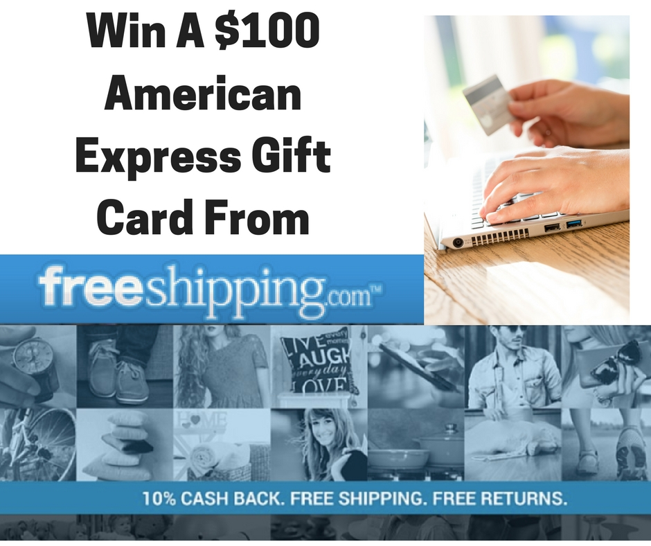 Enter for a chance to #win a $100 American Express Gift Card #LoveFreeShipping @FreeShippingcom